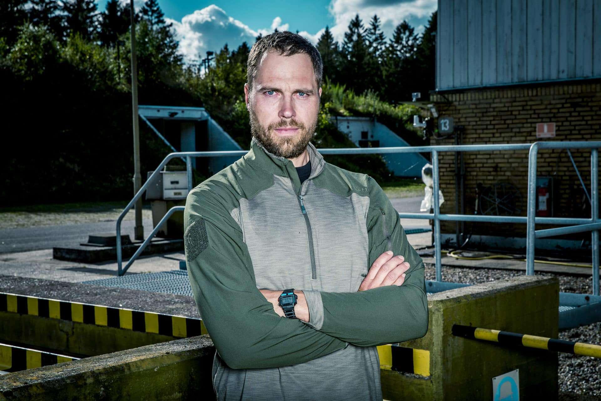 """""""Korpset"""", TV2, Instruktør Erik, Foto: Lars E. Andreasen/ TV 2"""