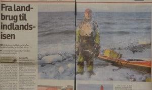 Fra landmand til indlandsisen, billede, Fyns Stiftstidende, 27. feb. 2011 af Michala Dieckmann