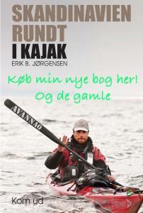 Køb bogen: Skandinavien rundt i kajak