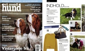 Med barn og hund i vildmarken, Vi med hund, nr. 1. 2016 af Ida Rud, header