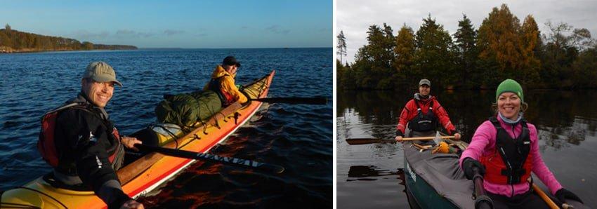 Yukon River, kano eller kajak, ture