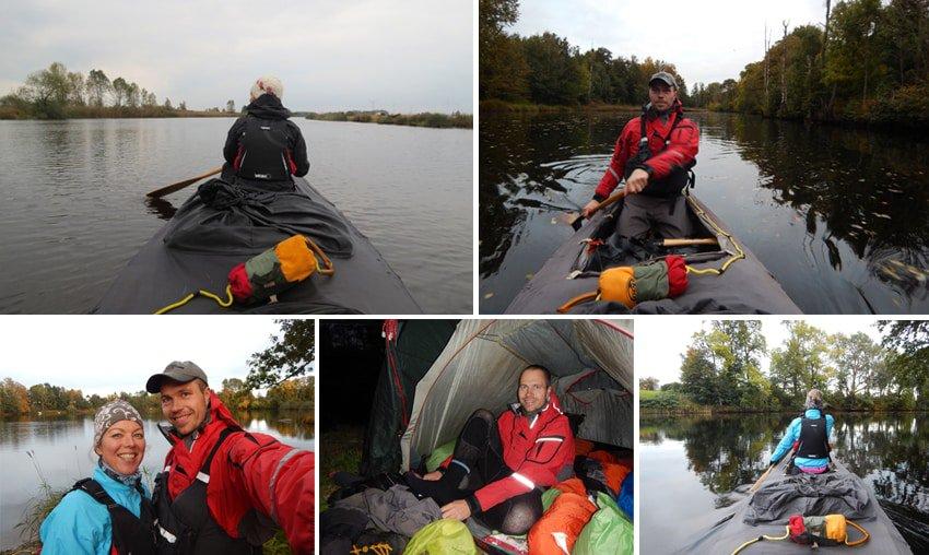 Yukon River, kano eller kajak