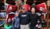 Up North Adventures, Mark, Tine Henriksen og Erik B. Jørgensen under ekspeditionen Yukon River, eventyrlige Yukon