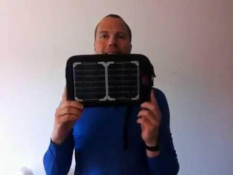 Video thumbnail for youtube video Test af Solcelle panel og batteri, Voltaic Fuse 4 Watt, meget robust