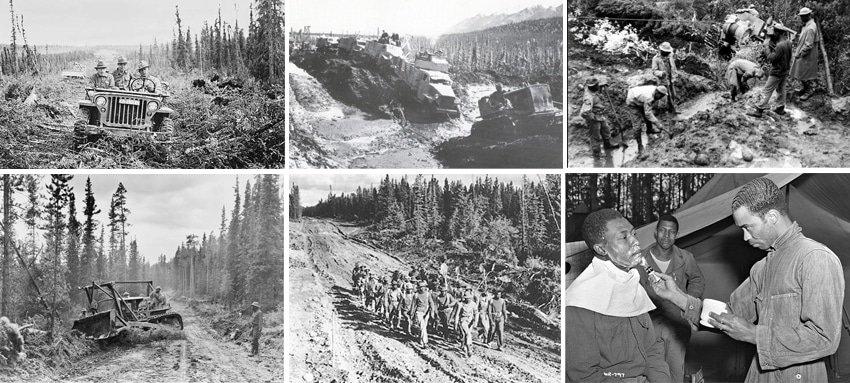 Alaska Highway og Anden Verdenskrig