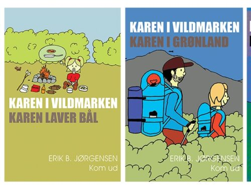 Børnebøger om friluftsliv/outdoor og natur