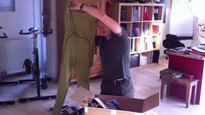 """Erik B. Jørgensen viser alt sit nye tøj fra Aclima til """"Skandinavien rundt i kajak"""""""