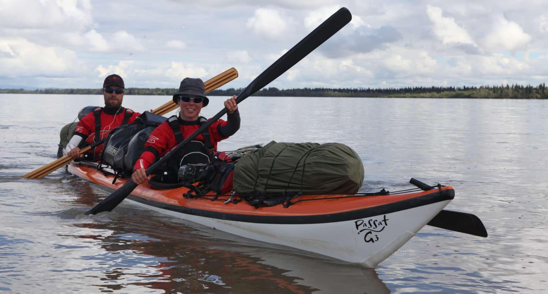 Anmeldelse: Gram kajak delbar pagajer, Yukon River