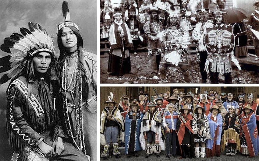 Atlin, Tlingit Indianer