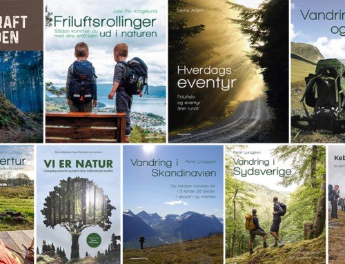 Boganmeldelse: Danske bøger om friluftsliv 2019-2020