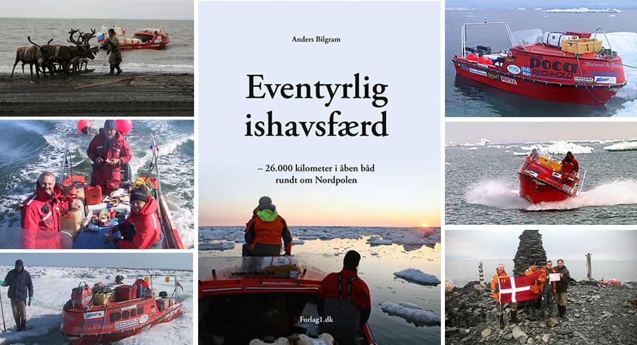 Bog: Eventyrlig ishavsfærd af Anders Bilgram.