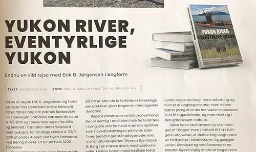 Boganmeldelse af Yukon River, Eventyrlige Yukon, Kano og kajak magasinet, april 2021 af Anders Krintel, lille