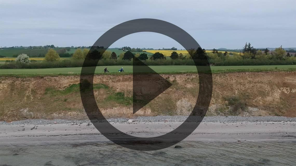Cykeltur Falster til Lyngby, via Møn og Stevns [Mikroeventyr] [Cykeltur]