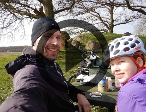 [Cykeltur] Lolland rundt, Far og datter tur (Film)