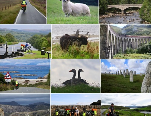 Cykeltur i skønne Skotland, 3-23 aug. 2018