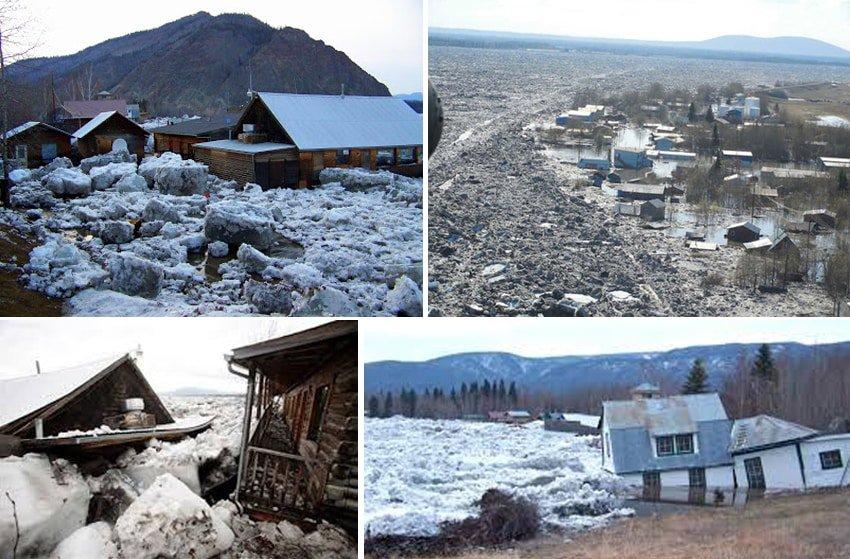 Eagle Village, Flood, Yukon