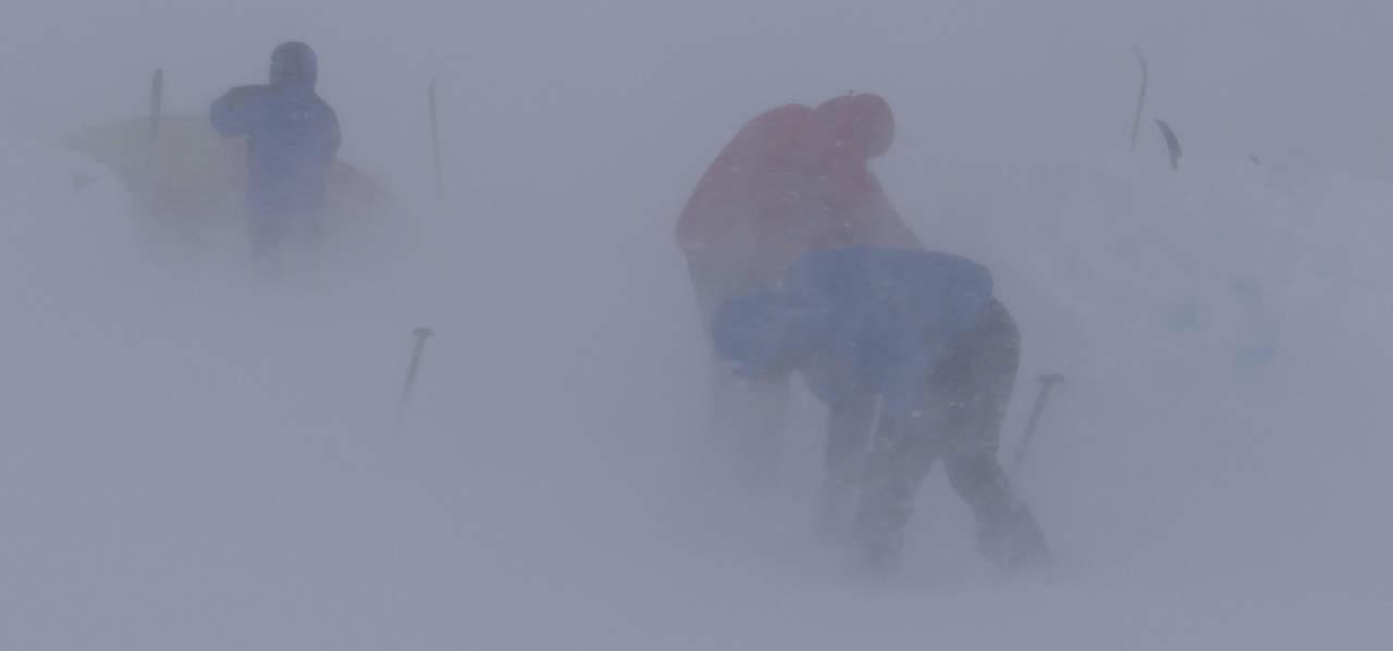 Erhvervscoach med kant, Erik B. Jørgensen. indlandsisen snestorm