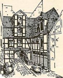 Eventyrernes Klub, Nyhavn, tegning