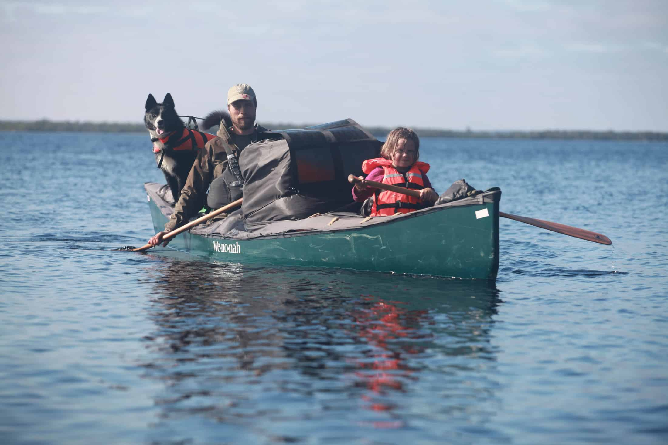 Dad and daughter in the Wilderness – 45 days in canoe