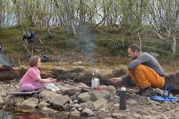 Far og datter i Vildmarken, foredrag, Erik B. Jørgensen