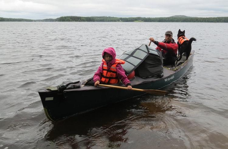 """Hjemkomst fra """"Far og datter i Vildmarken – 45 dage i Nordsverige"""""""