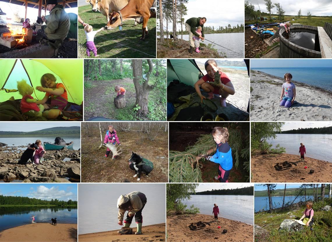 Inspiration til aktivitet med børn i naturen