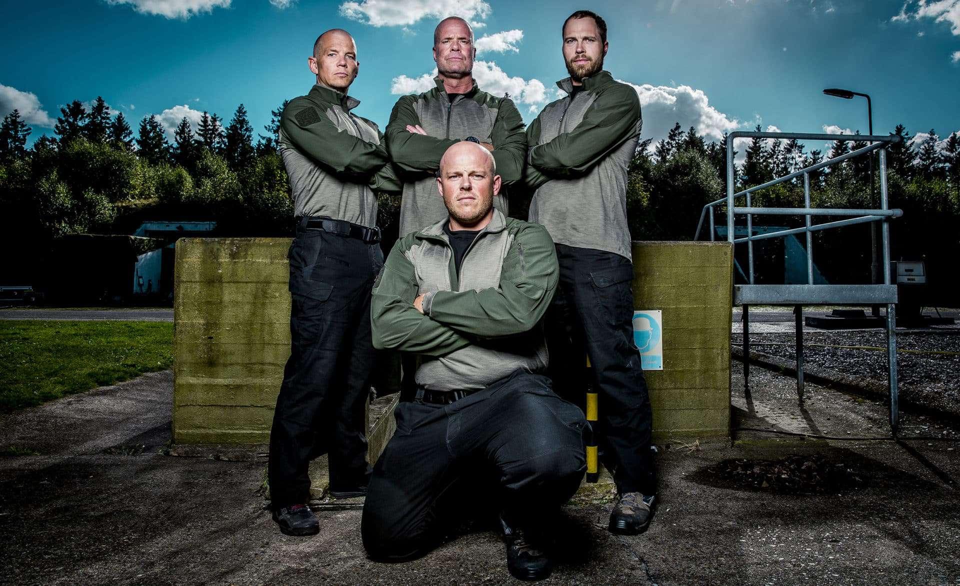 """Korpset - gjort af det rette stof"", TV2, Instruktørerne, Foto, Lars E. Andreasen/ TV 2"