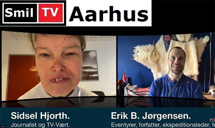 """Interview om mit liv, Erik B. Jørgensen og """"Korpset"""" på TV2, Smil TV, Aarhus, 11. maj. 2021 af Sidsel Hjort"""