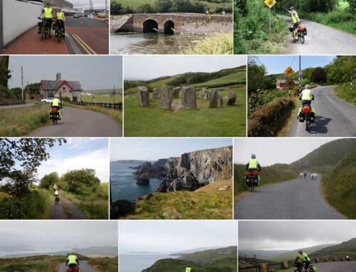 Irlands syd- og vestkyst på cykeltur, 24 juni til 15 juli 2019
