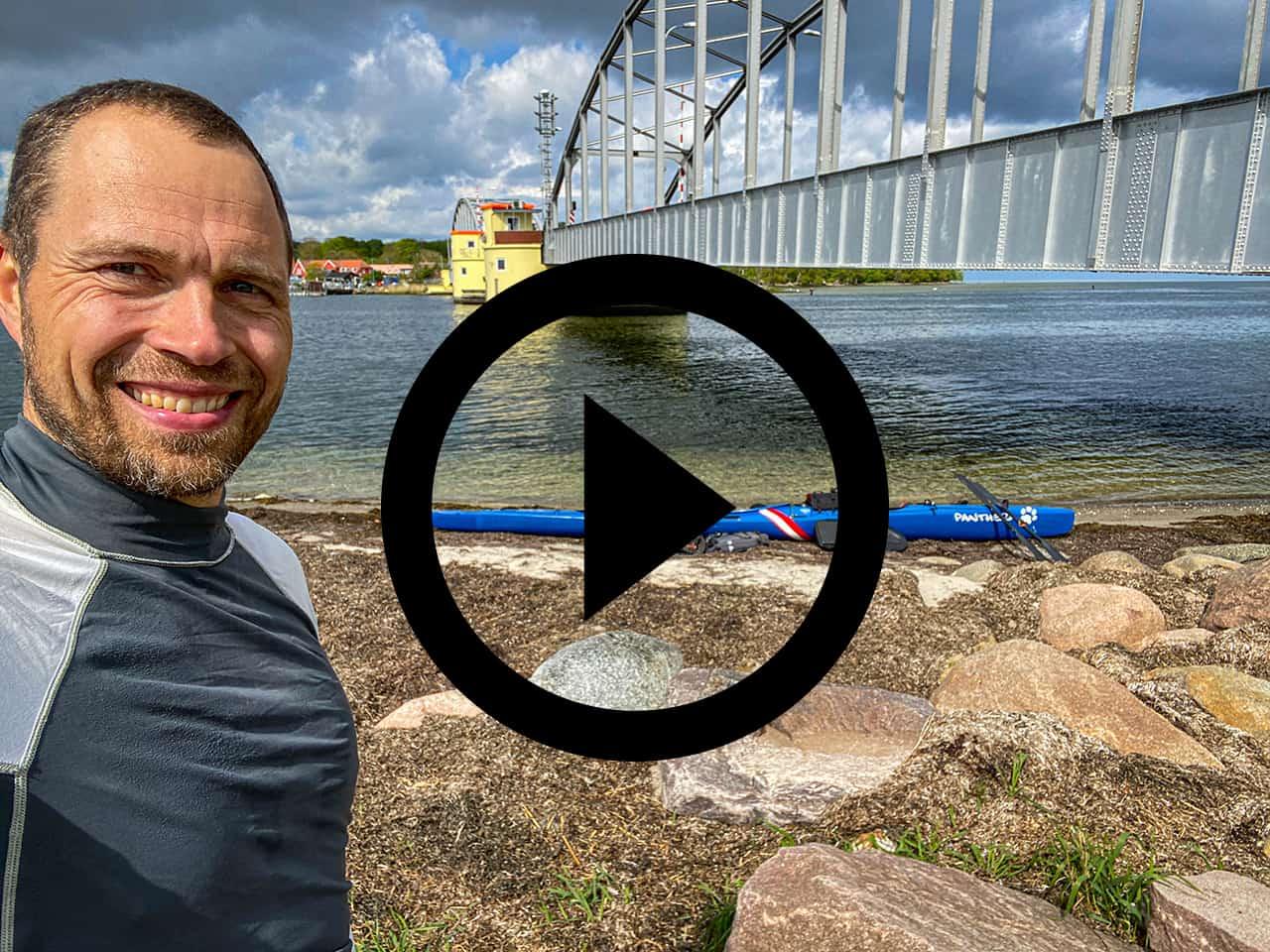 Erik B. Jørgensen på Kajaktur i Smålandsfarvandet (Fejø og Femø) [Mikroeventyr] se film her!