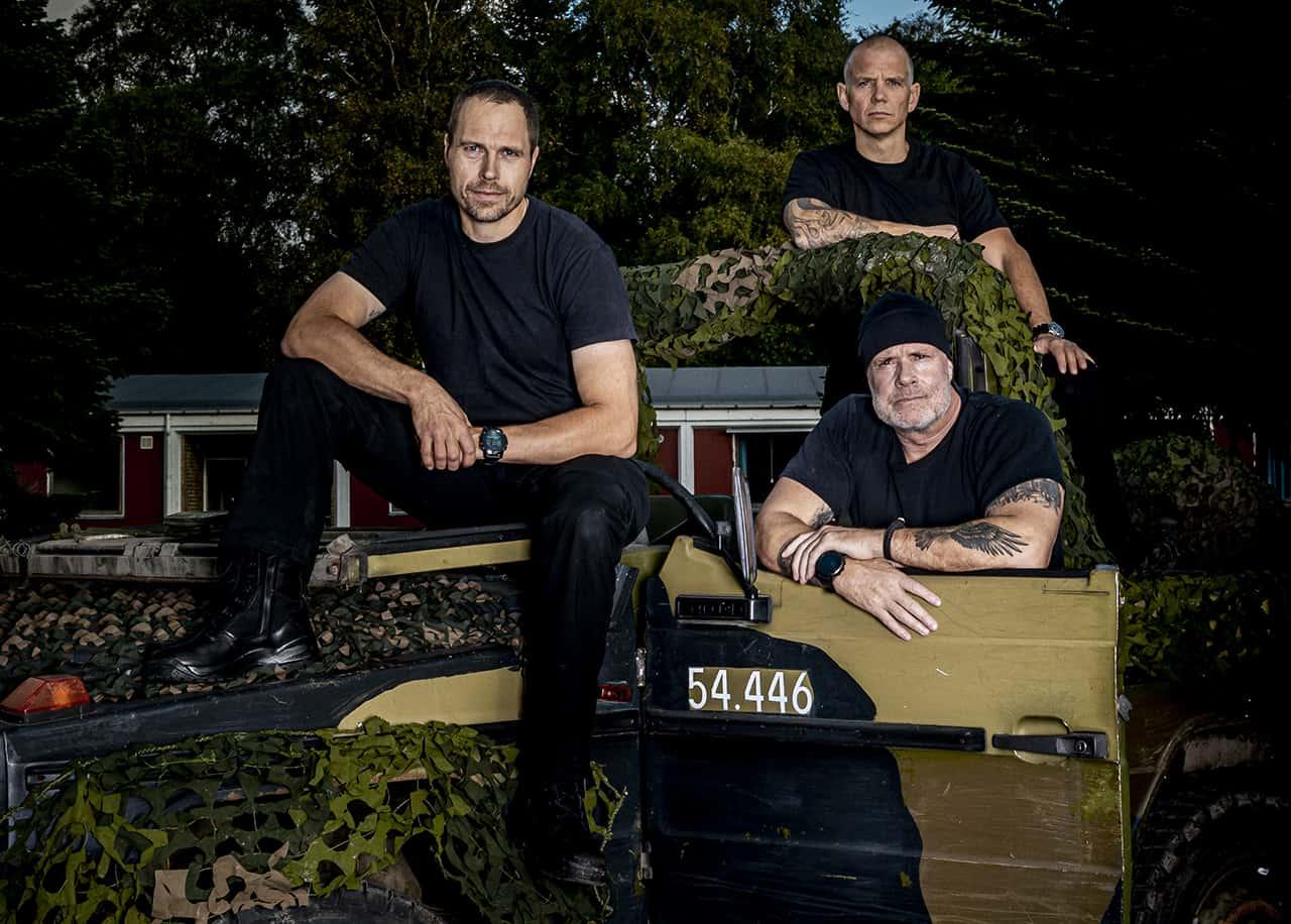 Korpset, sæson 4, Instruktørene, Erik B. Jørgensen, RAT og Rune