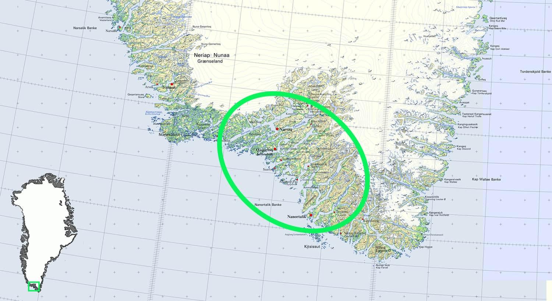 Kort rute, Far og datter i Vildmarken, i Grønland. Med Erik B. Jørgensen og Karen B. Sørensen