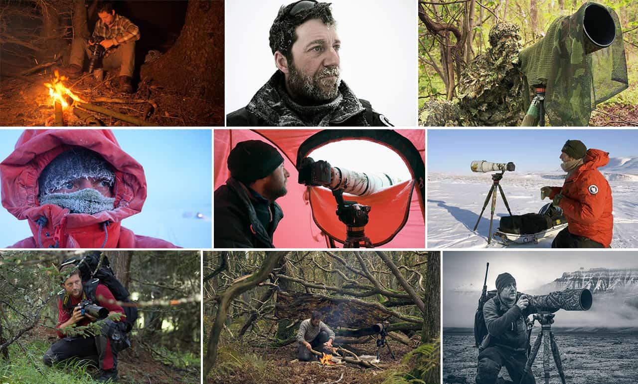 [Podcasts] Mød eventyreren Morten Hilmer. Billede collage i aktion rundt i verden