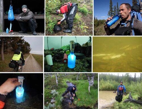 Rent vand på tur, vandrensning i naturen [Valg af] [Fif og råd]