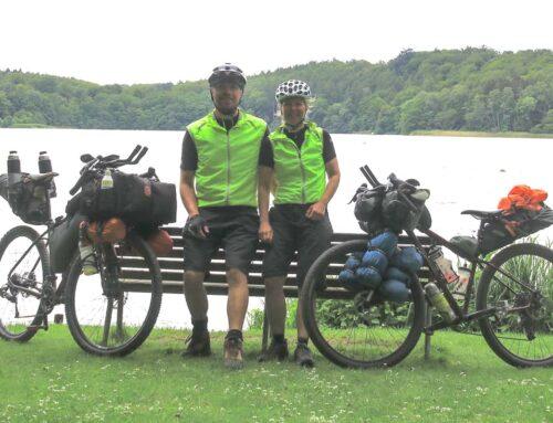 Sjette etape, Bikepacking, Danmark rundt