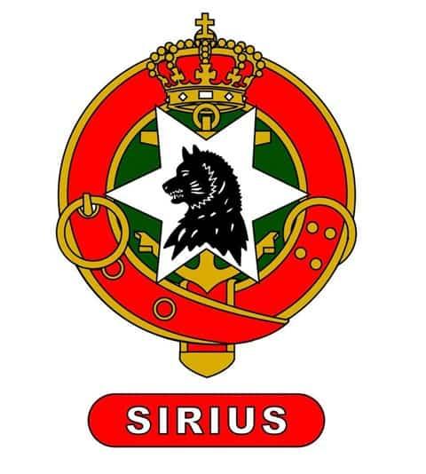 Slædepatruljen Sirius, logo
