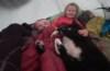 Sovepose test af Fever Zero, fra Yeti, Far og datter i Vildmarken, 45 dage i Nordsverige