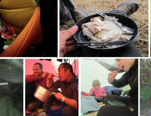 Spisegrej og kniv på vandre-, kajak- og kanotur (Anmeldelse kniv)