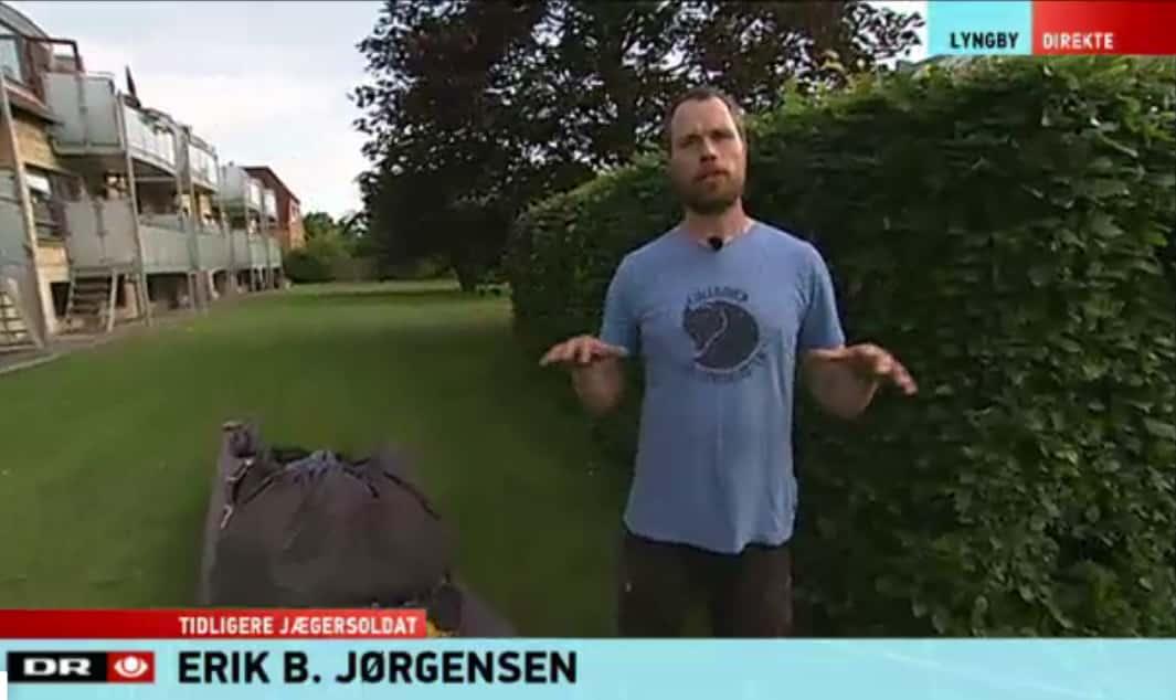 TV Avisen 18.30, 24. juli 2015, vært Henrik Lerche