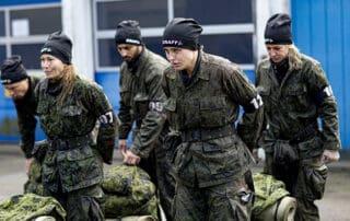 Træt, våd og kold [Korpset TV2], Foto Lars E. Andreasen
