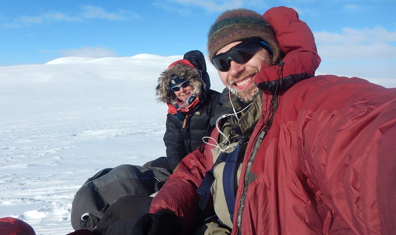 Valg af GPS, vintertur af Erik B. Jørgensen