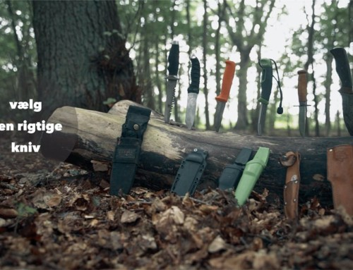 Valg af knive, til friluftsliv/outdoor [Fif og råd] (Anmeldelse kniv)
