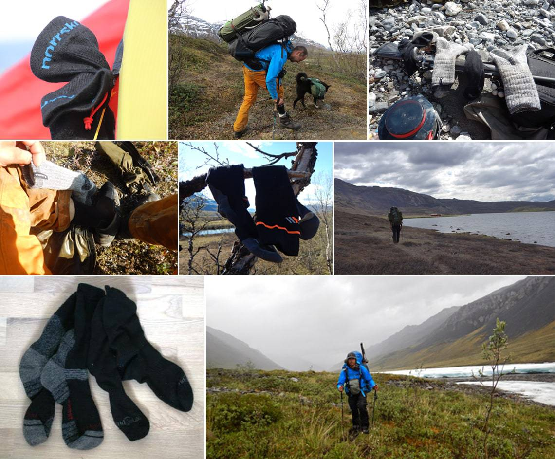 [Fif og råd] Valg af sokker, vandring, vinterfjeld, kajak og kano, anmeldelse