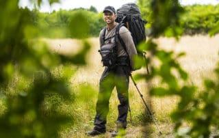 Billede af Erik B. Jørgensen på vandretur til indlægget: Vandrebukser jeg bruger, til friluftsliv