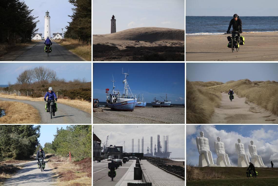 Vestkystruten Cykeltur Fra Skagen Til Esbjerg I Pasken 2018