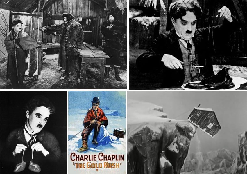 charlie chaplin klondike gold rush