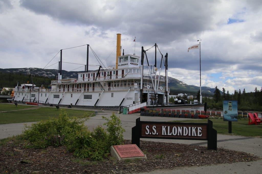 SS Klondike, hjuldamper