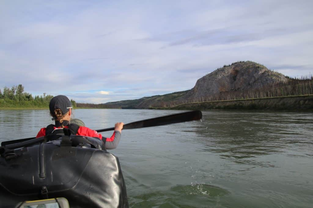 Eagle Bluff, Yukon River, Carmacks