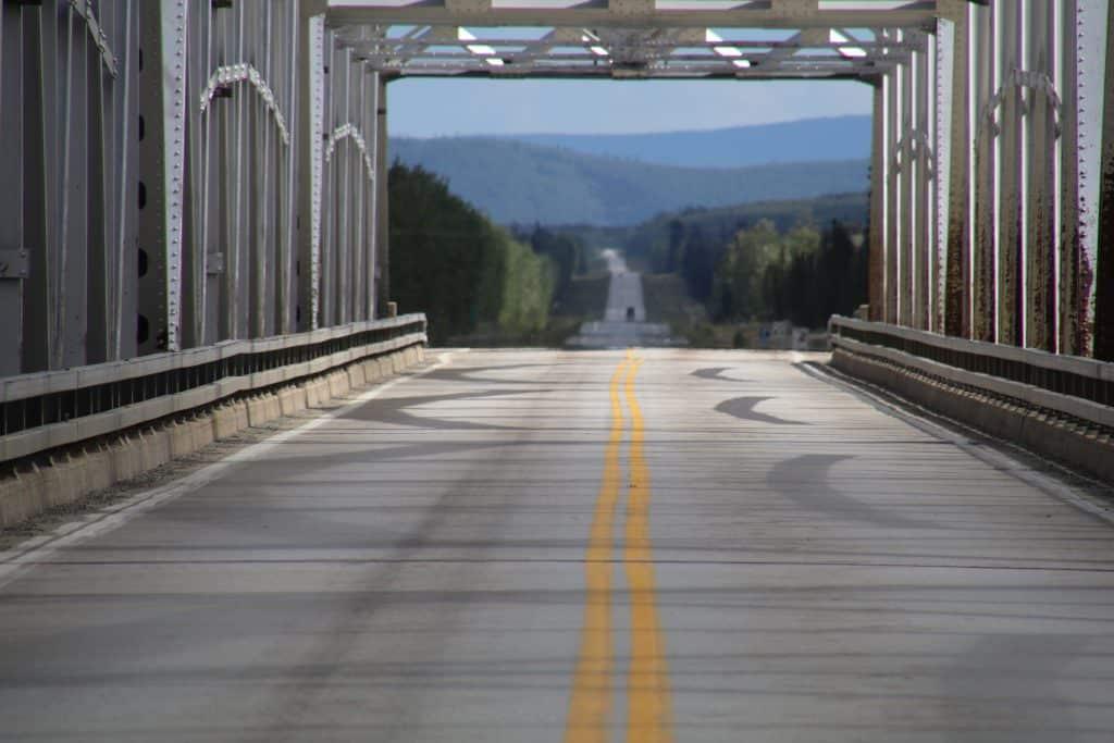 Alaska Highway stålbro