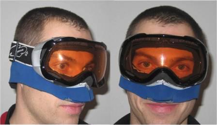 Skibriller med neopren forbedring